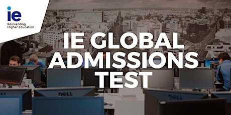 IE Global Admissions Test - Singapore tickets