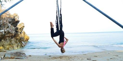 Aerial Yoga Beginner Intro Class - 4 Dec