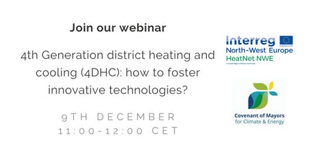 How to foster 4th generation district heating and cooling? tickets