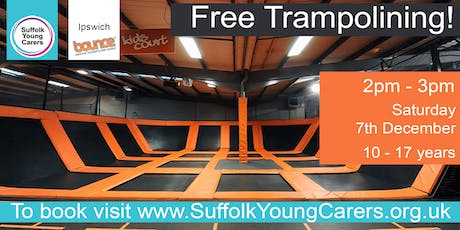 Young Carers Trampolining Ages 10-17 tickets