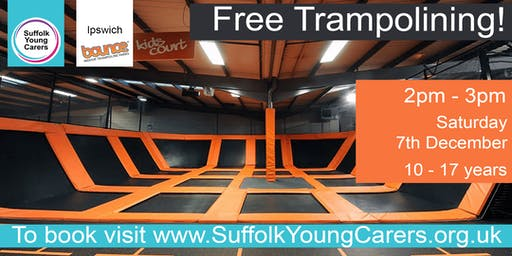Young Carers Trampolining