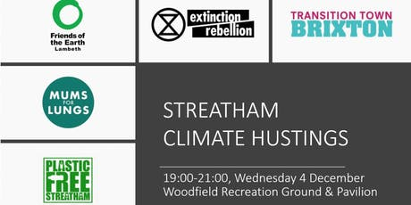 Streatham Climate Hustings tickets