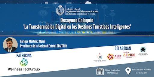 La Transformación Digital en los Destinos Turísticos Inteligentes
