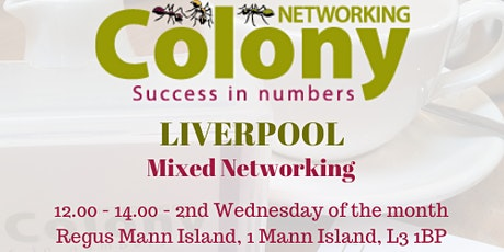 Colony Networking (Liverpool) - 13 May 2020 tickets