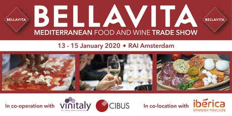 Bellavita Expo Amsterdam 2020 | VIP Judge Free Pass tickets