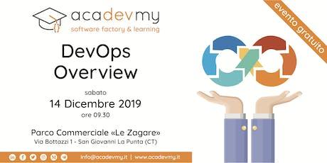 DevOps Overview biglietti