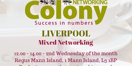 Colony Networking (Liverpool) - 10 June 2020 tickets