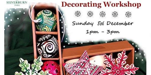 Ceramic Christmas Bauble Painting Workshop at Silverburn Park