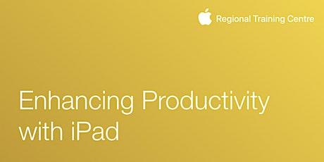 Enhancing productivity with iPad tickets