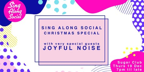Sing Along Social Christmas Special tickets