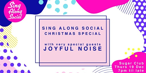 Sing Along Social Christmas Special