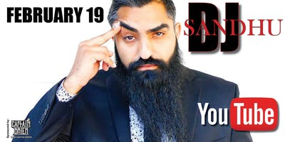 Comedian DJ Sandhu live at Off the hook comedy club, Naples, Florida