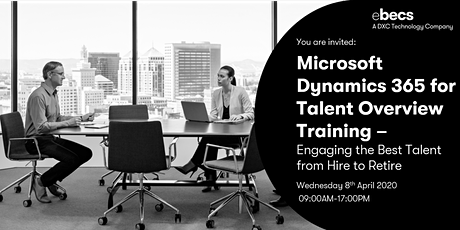 Microsoft Dynamics 365 for Human Resources Training tickets