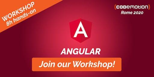 Codemotion Rome 2020 Workshop - Angular