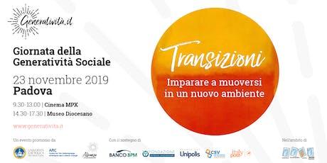 Giornata della Generatività Sociale biglietti