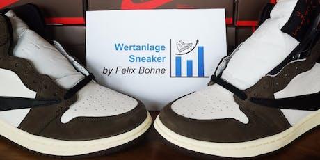 Wertanlage Sneaker das Seminar in München Tickets