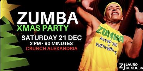 XMAS ZUMBA PARTY tickets