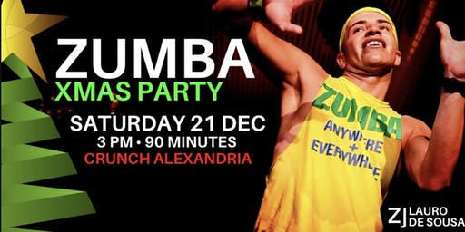 FLASH SALE XMAS ZUMBA PARTY