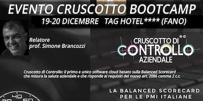 BOOTCAMP CRUSCOTTO DI CONTROLLO, Fano, 19-20 dicembre