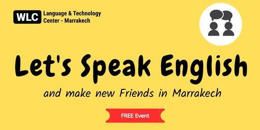Let's Speak English in Marrakesh