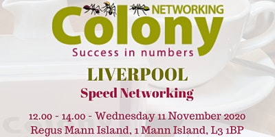 Colony Speed Networking (Liverpool) - 11 November 2020