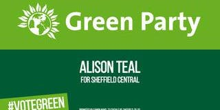Sheffield Green Party Election Action Day Hunters Bar/Psalter Lane area