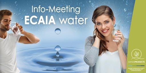 : SANUSLIFE-Informationsveranstaltung zum Thema ECAIA-Wasser.