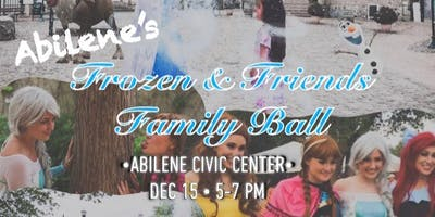 Frozen and Friends Family Ball