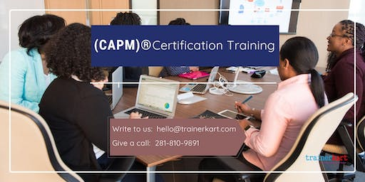 CAPM Classroom Training in Temiskaming Shores, ON