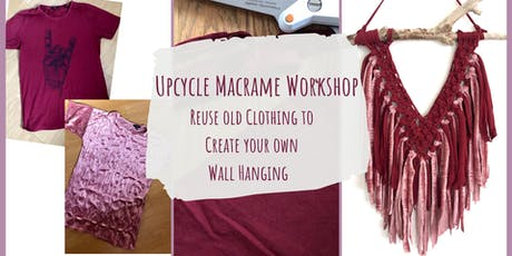 Upcycle Macrame Wall Hanging Workshop tickets