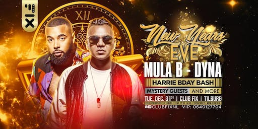 New Years EVE  W/ Mula B , Dyna and More