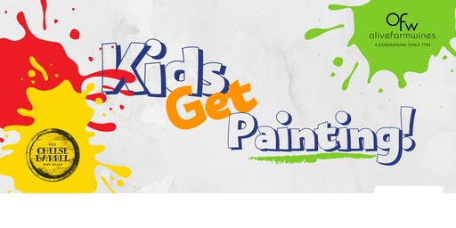 Kids Get Painting