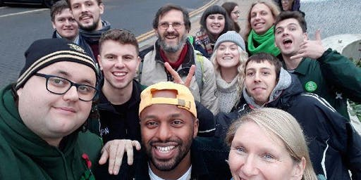 Sheffield Green Party Election Action Day Sharrow & Highfield area
