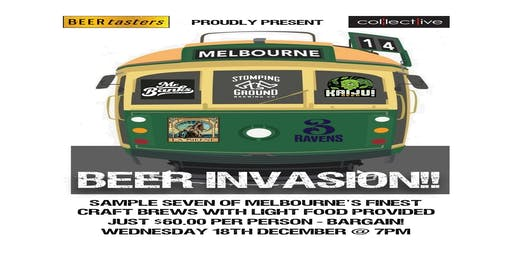 Melburnian Beer Invasion