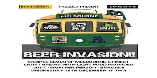 Melburnian Beer Invasion