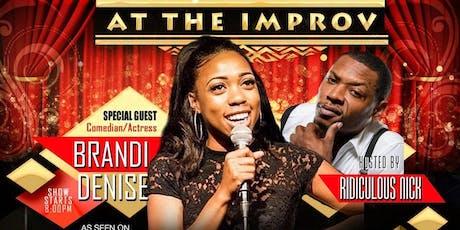 Improv comedy - Brandi Denise tickets
