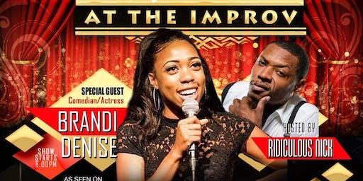 Improv comedy - Brandi Denise