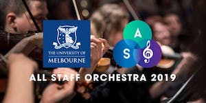 University of Melbourne All Staff Orchestra Concert