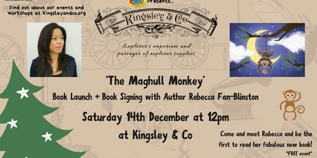 Rebecca Fan Blinston  The Maghull Monkey:  Book launch and Signing tickets