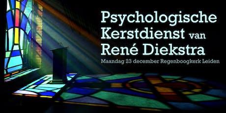 René Diekstra's Psychologische Kerstdienst en boeksignering tickets