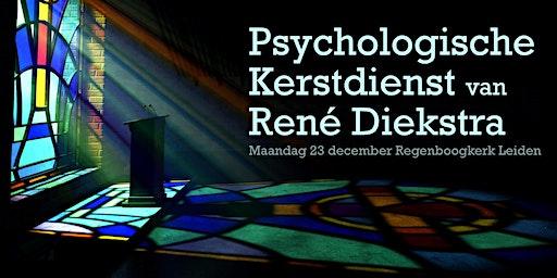 René Diekstra's Psychologische Kerstdienst en boeksignering