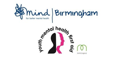 MHFA Two Day YOUTH Course - Wed 30th & Thurs 1 October 2020