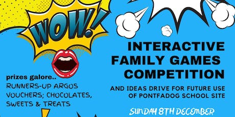 INTERACTIVE FAMILY GAMES COMPETITION tickets