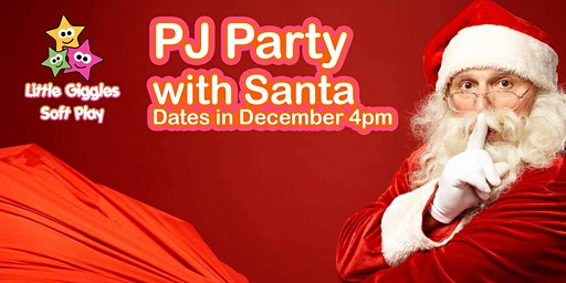 PJ Party With Santa
