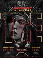 ThanksGiving Eve'19 @TenthAvenueNY - DJ's Bobby Trends + Hova + New Era + Mega Jay tickets
