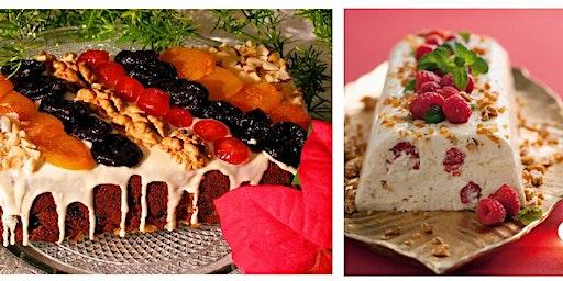 17/12 Sobremesas para a Ceia de Natal , 19h às 22:30 - R$180,00
