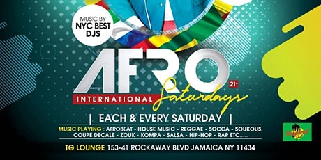 AFRO INTERNATIONAL SATURDAY tickets