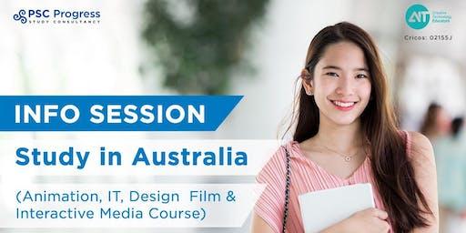 Info Session Jurusan Animasi, IT, Design dengan AIT Australia (Free Event)