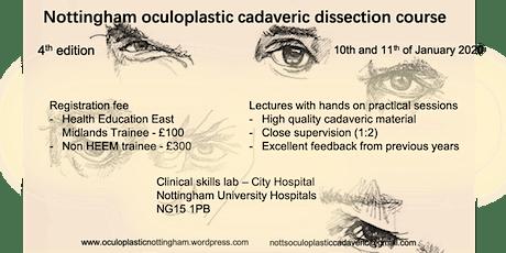 Nottingham Oculoplastics Cadaveric Course 2020 tickets