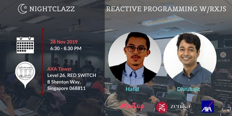 Let's explore Reactive Programming with RxJS | NightClazz tickets